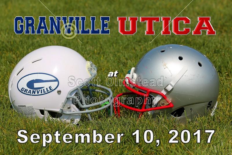 Granville Blue Aces at Utica Redskins - 3rd & 4th Grade Football - Sunday, September 3, 2017