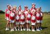 Utica Cheerleaders - Utica Redskins at Johnstown Johnnies - Grades 3 & 4 - Saturday, August 26, 2017