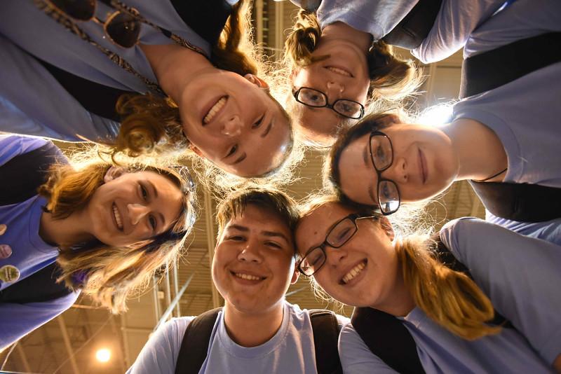 WELCA @ 2018 ELCA Youth Gathering |  Jacob Gilbert, Roberta Slawinski, Megan Coleman, Shannon Wenzel, Cheyenne Cravener, Jordan Price, Trinity Lutheran, Arendtville, Pa., Lansdale, Pa.
