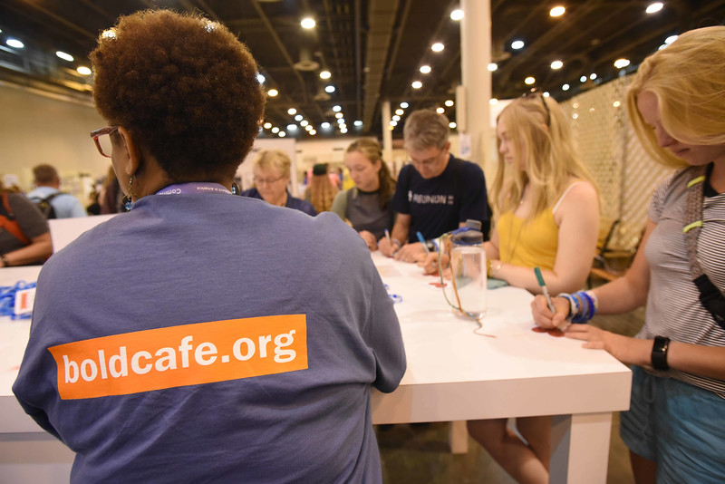 """WELCA @ 2018 ELCA Youth Gathering 