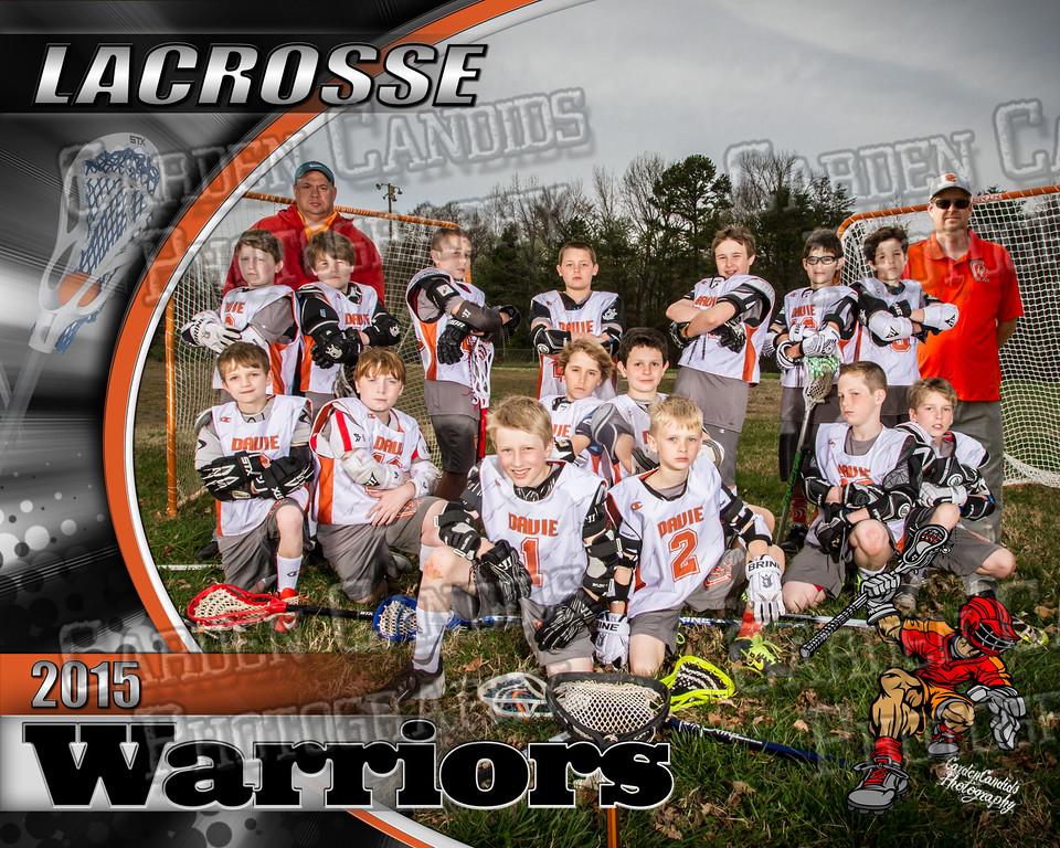 Lacrosse TEAM-U11- 8x10