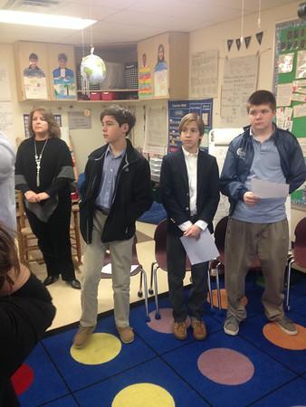 7th Grade- Jan 29