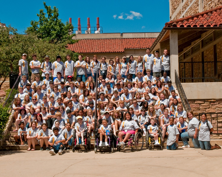 8 x 10 Cropped Rally 2009 Campers Group Photo-Edit