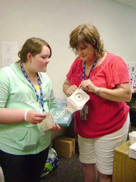 Nurses Introduce Product Options - 2
