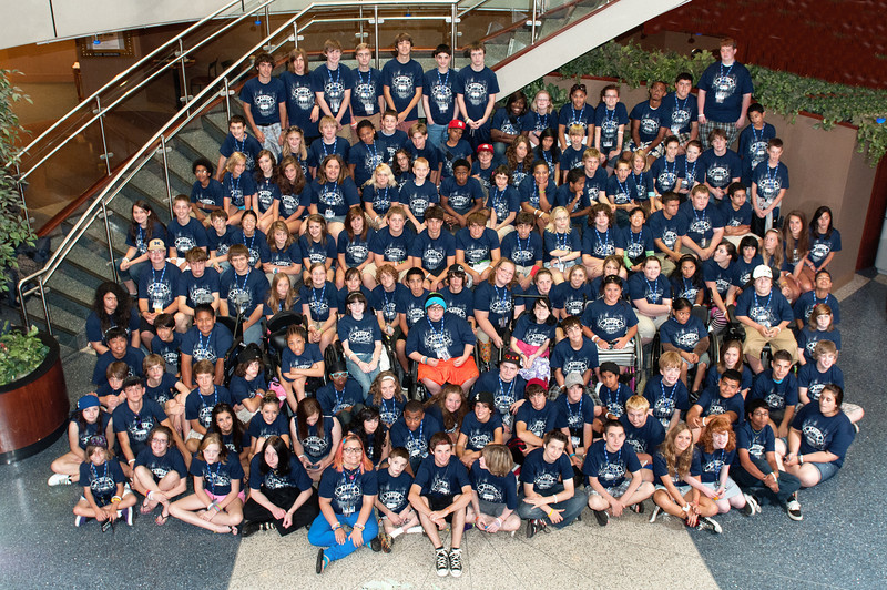 Camper Group Photo Rally 2010