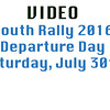 Youth Rally 2016 Saturday