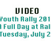 Youth Rally 2016 Tuesday