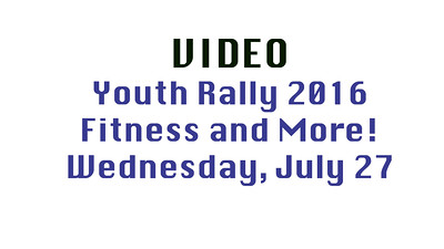 Video Wednesday 2016 Youth Rally