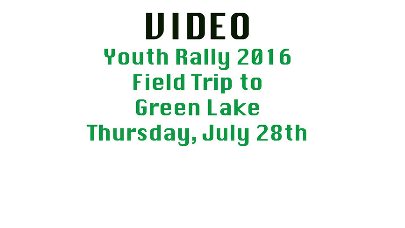 Youth Rally 2016 Thursday