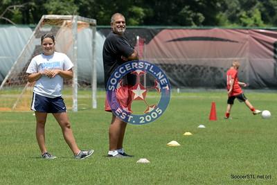 Maryville Saints Soccer Camp 2013