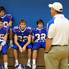 After a Friday night postponement due to rain, the TCA-Addison Trojans battled the Frisco Wakeland Wolverines in a non-district match-up on Saturday morning, September 17, 2011.  The Trojans fell to the Wolverines 49-31.