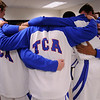 The TCA-Addison boy's varsity basketball team competes against the nationally-acclaimed Prestonwood Christian Academy Lions Tuesday, Jan. 3, 2012 at Trinity Christian Academy in Addison, Texas.  The Prestonwood team, which boasts five Division-I recruits, defeated the Trojans 67-47.