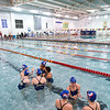 TCA-Addison varsity swim team competes at the Carrollton Invitational swim meet Saturday, January 12, 2013 at the Carrollton-Farmers Branch ISD Natatorium in Carrollton, Texas.