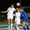 The Trinity Christian Academy varsity girls' soccer team drops a district match to Nolan Catholic 4-1 Monday, February 11, 2013 at Tom Landry Stadium on the TCA campus in Addison, TX.