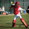 Trinity Christian Academy varsity softball team is defeated by the Ursuline Bears Tuesday, March 26, 2013 at the TCA softball field in Addison, Texas.