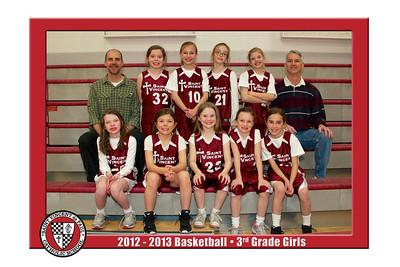 12-13 St. Vincent Basketball - 3rd Grade Girls