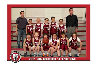 12-13 St. Vincent Basketball - 3rd Grade Boys