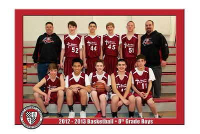 12-13 St. Vincent Basketball - 8th Grade Boys