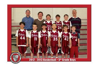 12-13 St. Vincent Basketball - 5th Grade Boys