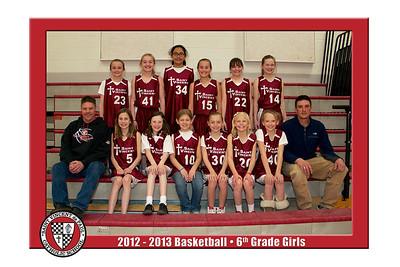 12-13 St. Vincent Basketball - 6th Grade Girls