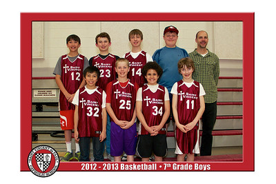 12-13 St. Vincent Basketball - 7th Grade Boys