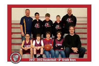 12-13 St. Vincent Basketball - 6th Grade Boys