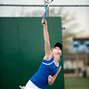 The TCA varsity tennis team competes against Bishop Lynch on Wednesday, April 2, 2014 on the TCA campus in Addison, Texas.