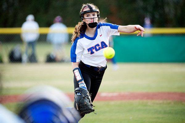 2018-02-15 TCA-Addison - Legacy Christian Varsity Softball