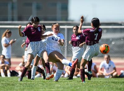 Riverdale Ridge vs. Fort Morgan girls soccer