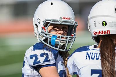 Salt Lake City, UT - Wednesday May 26, 2021: Utah Girls Tackle Football. Championship Game. Ohana. ©2021 Bryan Byerly