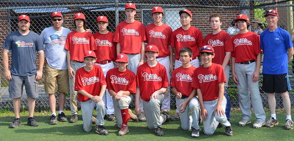 Babe Ruth Phillies-Spring 2015 Champs!