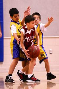 3rd Grade Boys • St. Vincent vs St. Anns 3-2-2013