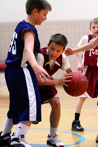 4th Grade Boys • St. Vincent Red vs St. John Silver 3-2-2013