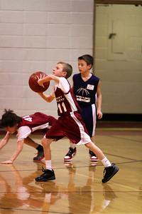 4th Grade Boys • St. Vincent vs St. John White 2-27-2013