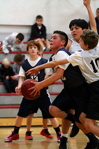 6th Grade Boys • Lourdes SL vs St. Ambrose Red 1-26-2013