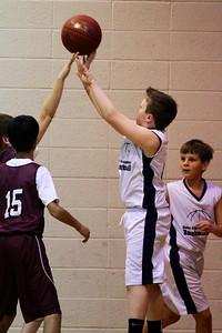 6th Grade Boys • St. Vincent vs St. John Blue 1-19-2013