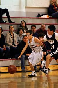 6th Grade Boys • St  Vincent's vs Lourdes Magna   33