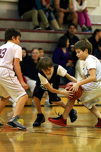 6th Grade Boys • St  Vincent's vs Lourdes Magna   15