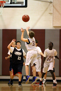 6th Grade Boys • St  Vincent's vs Lourdes Magna   13