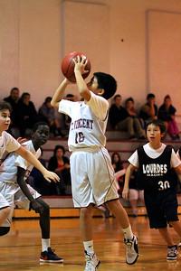 6th Grade Boys • St  Vincent's vs Lourdes Magna   20