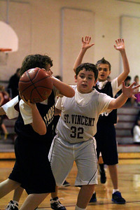 6th Grade Boys • St  Vincent's vs Lourdes Magna   11