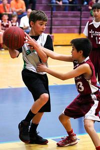 7th Grade Boys • St. Vincent vs St. Ambrose 3-2-2013