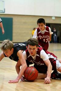 7th Grade Boys • St  Vincent's vs St  Ambrose 12-8-12   29