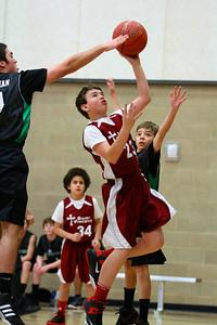 7th Grade Boys • St  Vincent's vs St  Ambrose 12-8-12   6