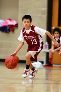 7th Grade Boys • St  Vincent's vs St  Ambrose 12-8-12   5