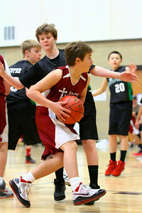 7th Grade Boys • St  Vincent's vs St  Ambrose 12-8-12   15