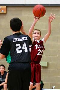 7th Grade Boys • St  Vincent's vs St  Ambrose 12-8-12   8