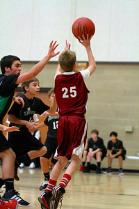 7th Grade Boys • St  Vincent's vs St  Ambrose 12-8-12   11