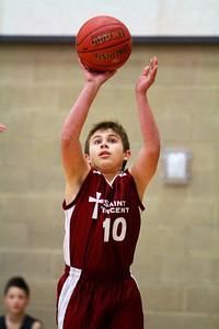 7th Grade Boys • St  Vincent's vs St  Ambrose 12-8-12   4