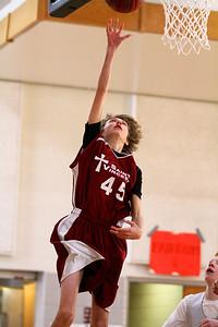 8th Grade Boys • Lourdes Salt Lake vs St  Vincent 1-5-2013   5